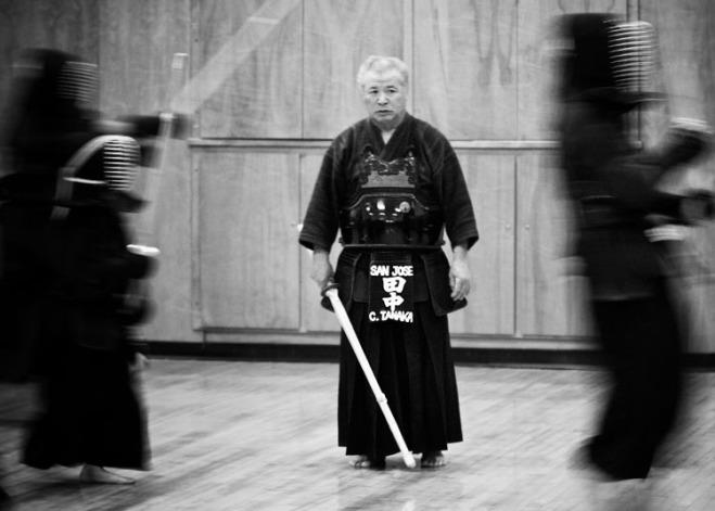 Sensei thường là những cao niên như thế này