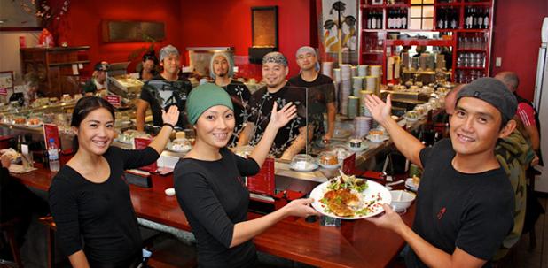 Quy trình tiếp khách ở Nhà hàng NhậtBản