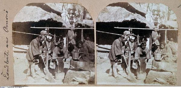 Farmers from Omono