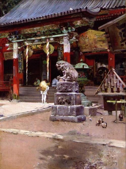 Đền Meguro Fudo