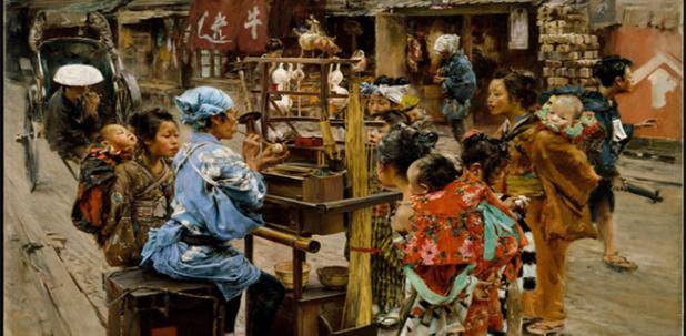Những bức họa Cuộc sống Tokyo thế kỉ19