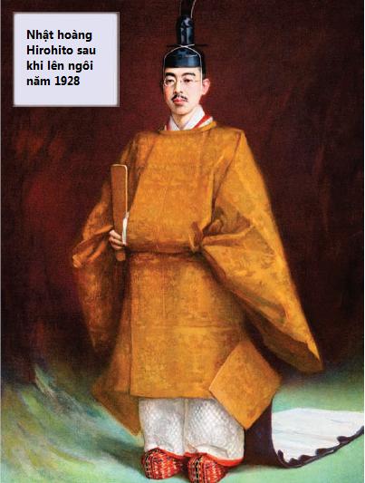 Nhật hoàng Hirohito - hoàng đế của Nhật Bản trong suốt Thế chiến thứ hai