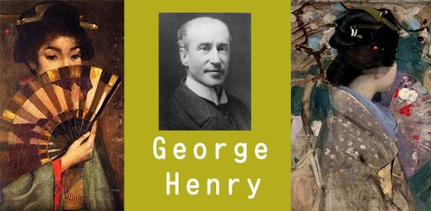 Tranh của George Henry về NhậtBản