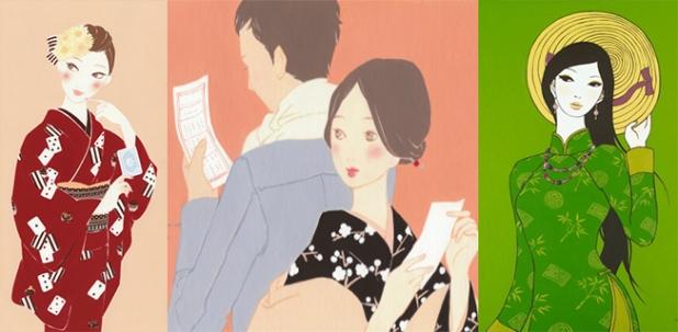 KIMONO VÀ ÁO DÀI – HiromiTsuji