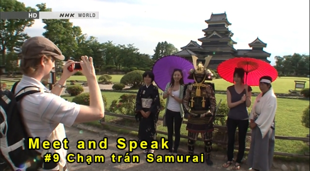 Meet and Speak – tập 9: Chạm trán Samurai