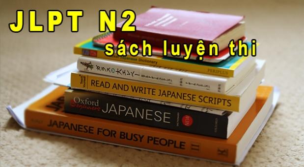 Tự luyện thi JLPT N2: Sách luyện thi (có linkdownload)