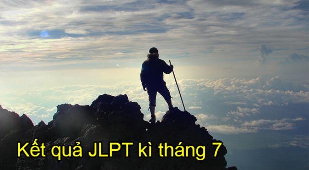 Kết quả JLPT tháng7/2015