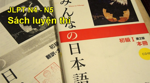 Tự luyện thi JLPT N5-4: Sách luyệnthi