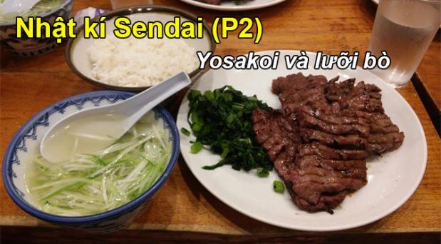 Nhật ký Sendai (P2): Yosakoi và lưỡibò
