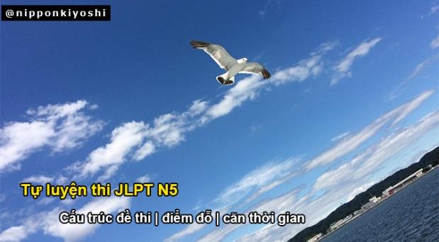 Tự luyện thi JLPT N5 (P1): Cấu trúc đềthi