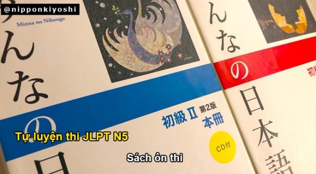 Tự luyện thi JLPT N5 (P2): Sách luyệnthi
