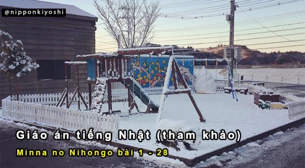Giáo án mẫu cho Minna-no-Nihongo bằng tiếng Nhật(P1)